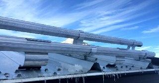Монтаж снегозадержателей Казань цена от 851 руб.